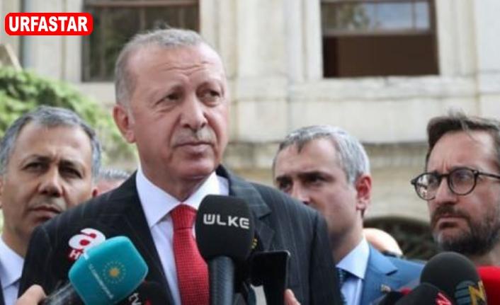 Erdoğan ilk kez konuştu...