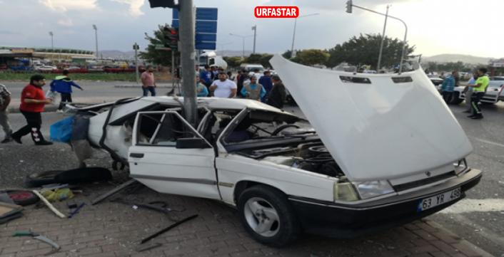 Haliliye'de Trafik Kazası