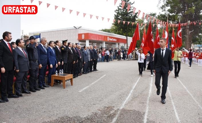 Hilvan'da, 29 Ekim Cumhuriyet Bayramı Törenlerle Kutlandı
