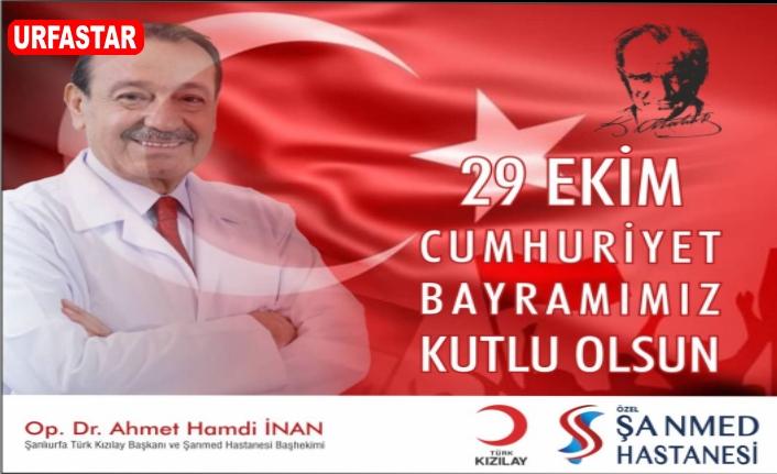 Kızılay Başkanı İnan'dan 29 Ekim mesajı