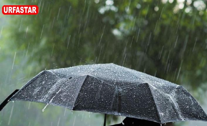 Şanlıurfa'ya Yağışlar Geliyor