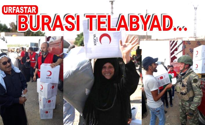 Telabyad'ta hayat normale döndü...