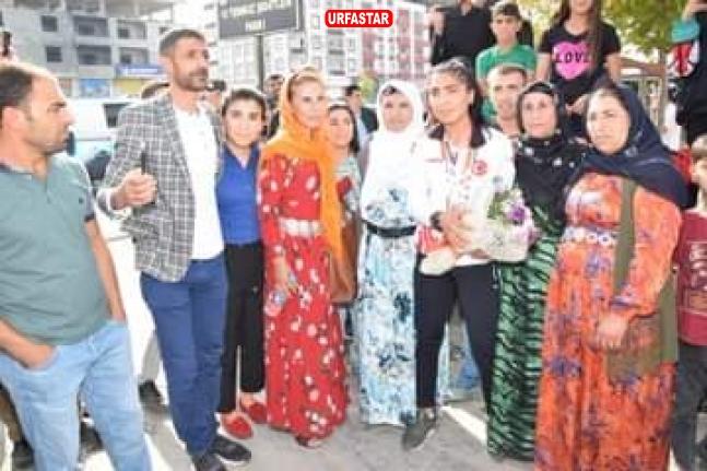 Şampiyona Viranşehir'de coşkulu karşılama