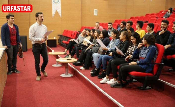 Urfa'da Türk Halk Korosu kuruluyor