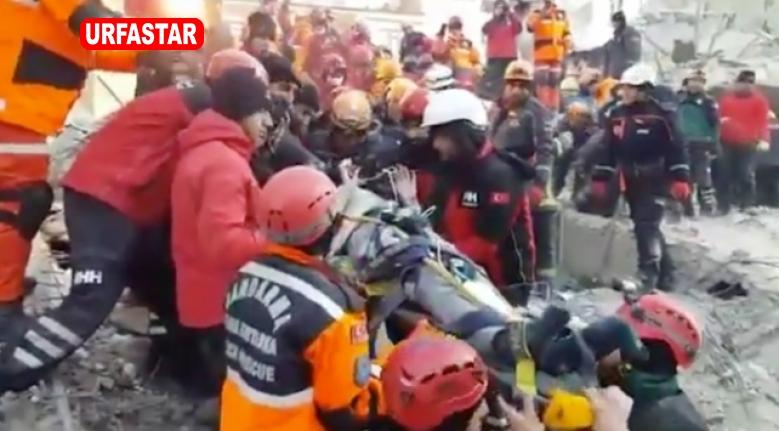 Enkazın altından 39 kişi çıkarıldı...