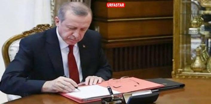 Erdoğan'dan kritik imza! Çok sayıda isim görevden alındı