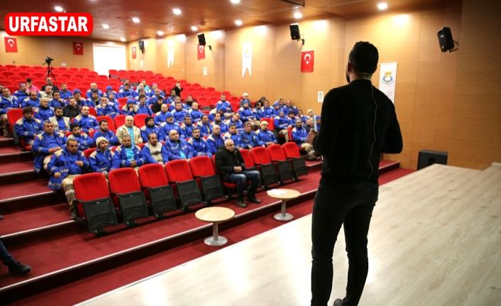 Haliliye Belediyesi personeline sağlık eğitimi verdi