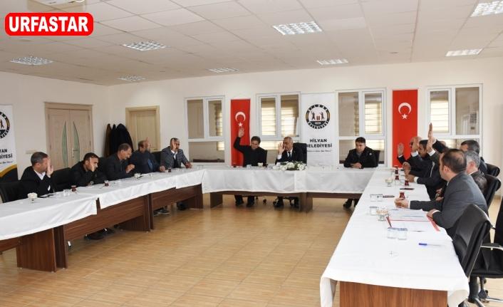 Hilvan Belediyesi Yeni Yılın İlk Meclis Toplantısını Gerçekleştirdi