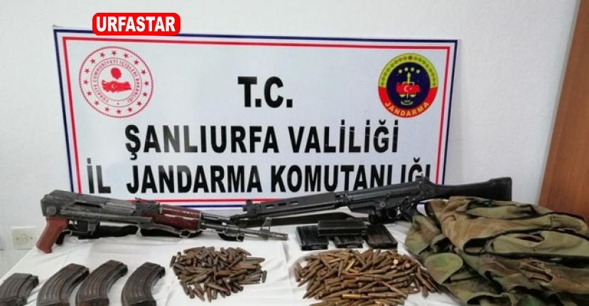 Şanlıurfa'da çok sayıda silah ve uyuşturucu maddesi ele geçirildi
