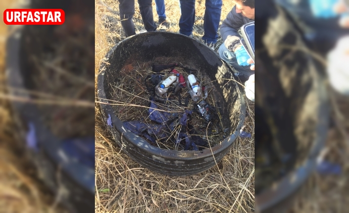 Suruç'ta bomba bulundu