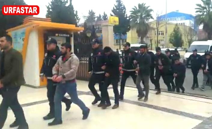 Urfa'da tutuklanıp cezaevine gönderildiler