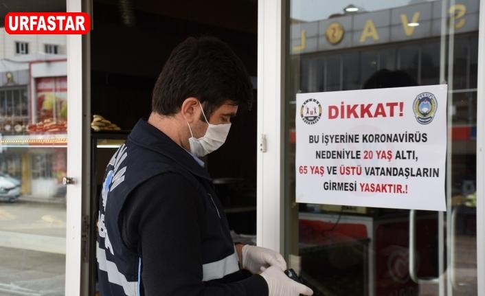 Hilvan'da iş yeri giriş çıkışlarında kısıtlama