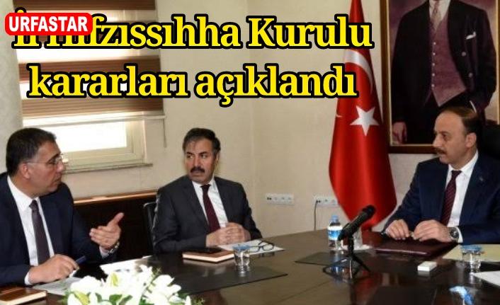 Urfa'da yeni korona kararları açıklandı