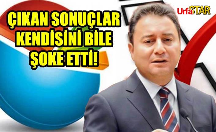 Ali Babacan anket sonuçlarını açıkladı!