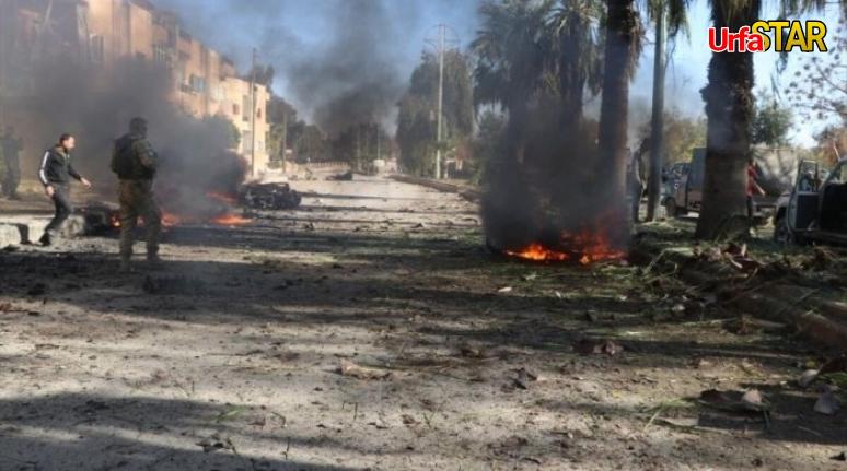 Bomba yüklü aracı patlattılar!