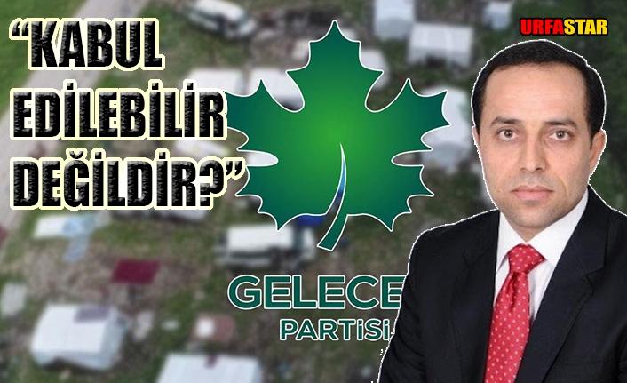 Gelecek Partili Kırboğa'dan tepki...