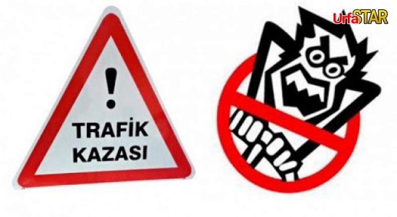 Karaköprü'de şok kaza