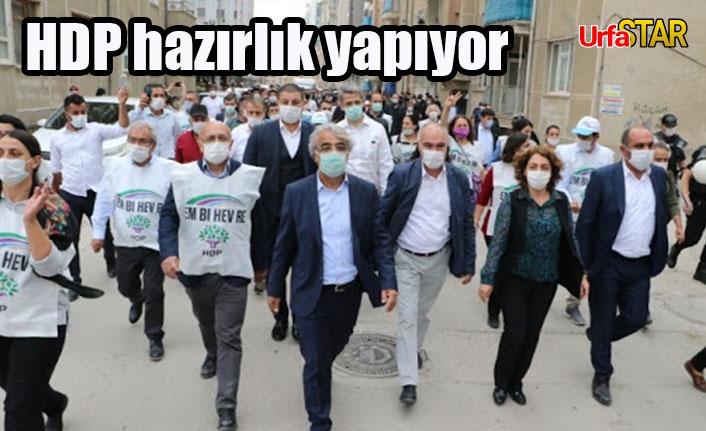 Urfa'dan yürüyecekler...