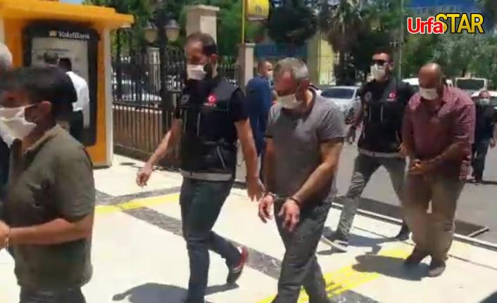 Urfa polisi 3 kişiyi daha paketledi!