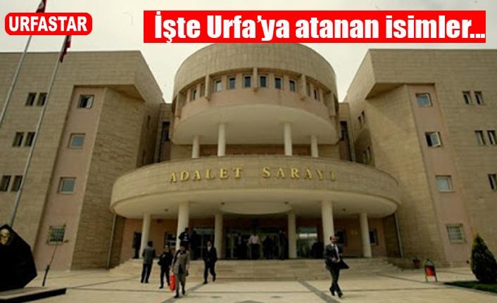 Urfa'da 24 hakim ve savcı ataması yapıldı