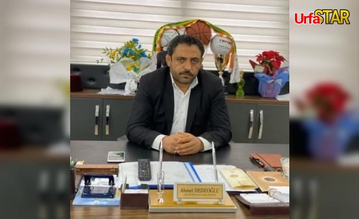 Dedeoğlu BŞB'de başkan oldu...