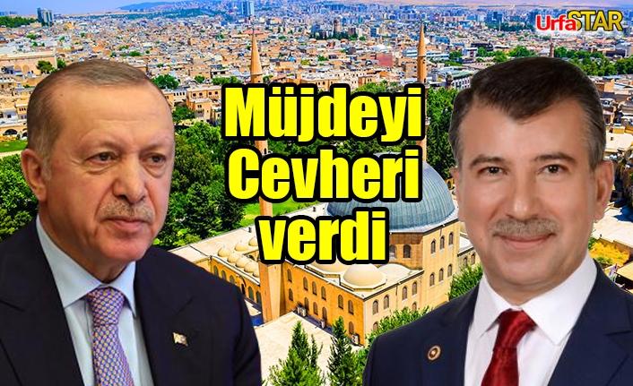 Erdoğan, Urfalı çiftçilerin yarasına merhem oldu