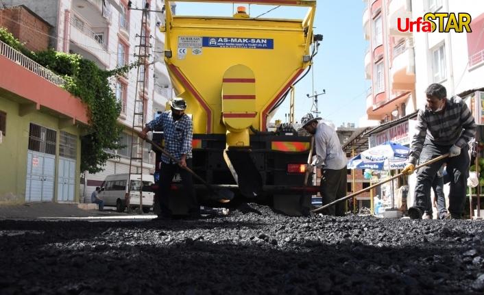 Siverek'te üst yapı iyileştirme çalışmaları devam ediyor