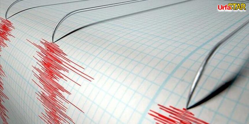 Suriye'de deprem, Urfa'da da hissedildi!