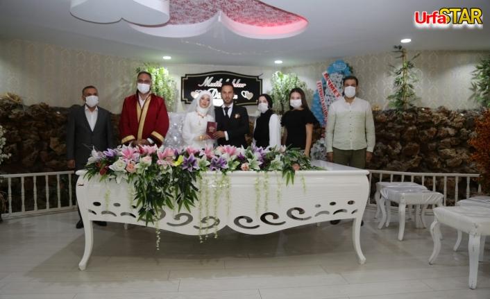 Koruma Uğur evlendi...