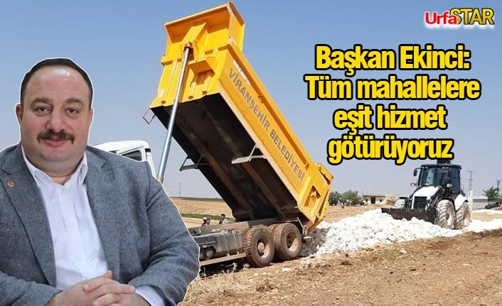 Viranşehir'de hizmet seferberliği sürüyor