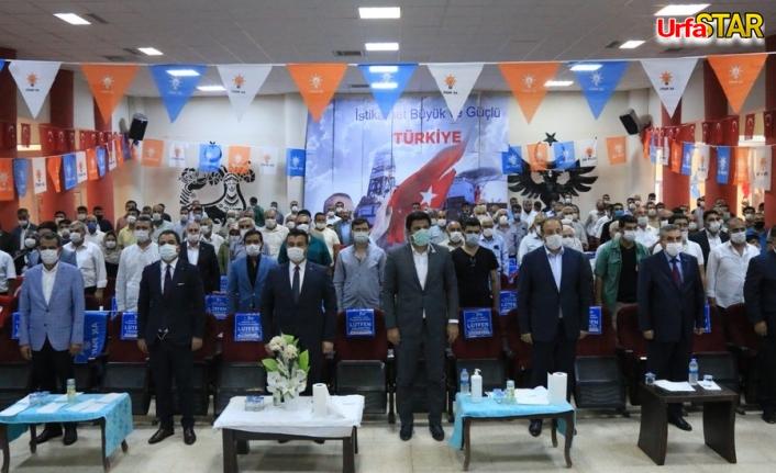 AK Parti Suruç ve Akçakale'de kongre heyecanı yaşandı