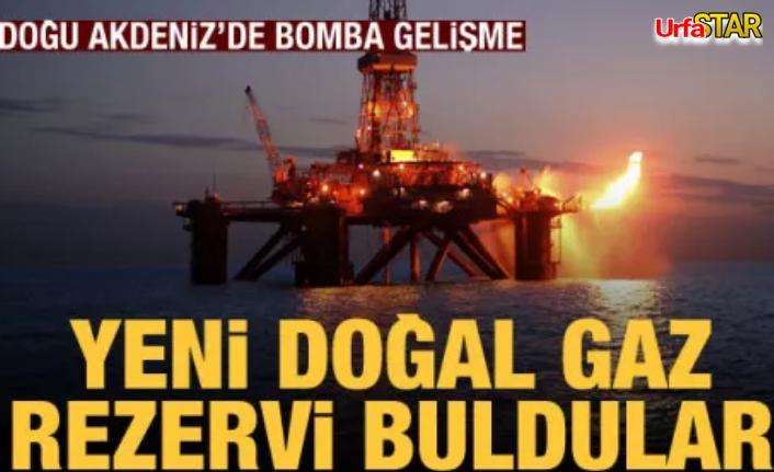 Akdeniz'de doğalgaz fışkırıyor