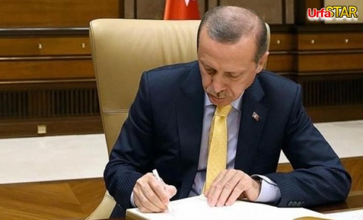Erdoğan'dan flaş Urfa kararı...