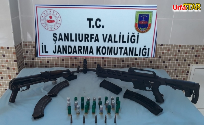 Jandarmadan silah kaçakçılığı operasyonu...