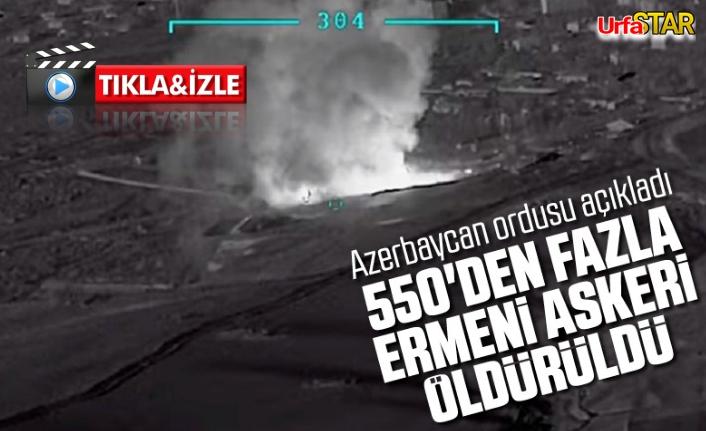 Kardeş Azeri ordusundan Ağır darbe