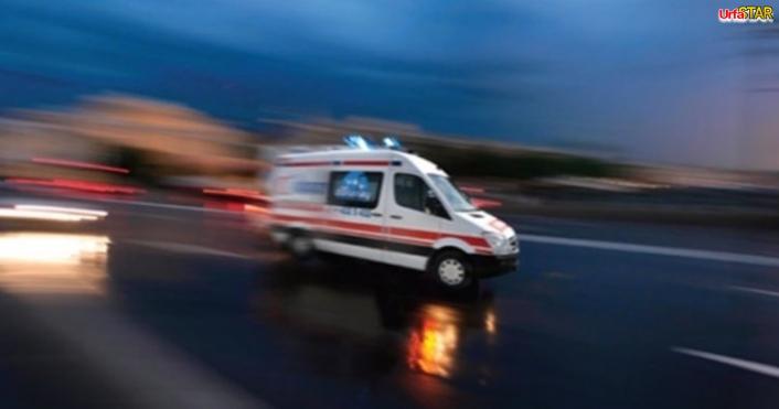 Urfa'dan giden yolcu otobüsü kamyonla çarpıştı