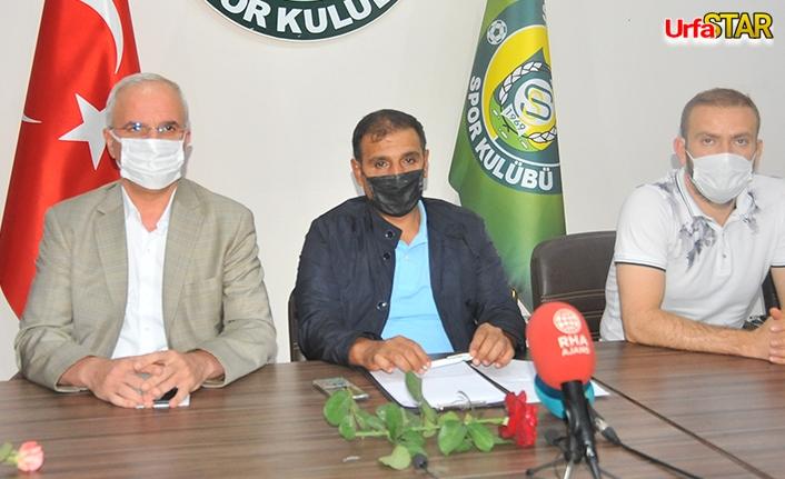 Emin Yetim, Urfaspor'un hedefini açıkladı