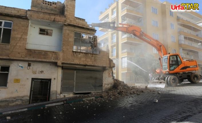 Haliliye'de yıkımlar sürüyor