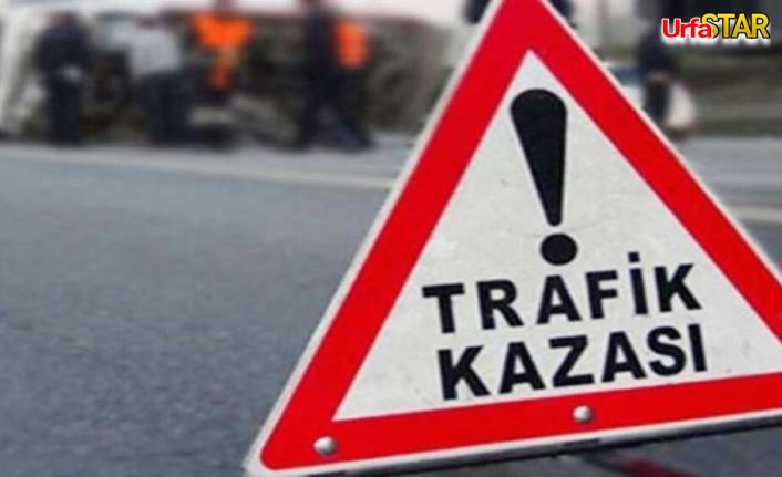 Mardin yolunda iki otomobil çarpıştı