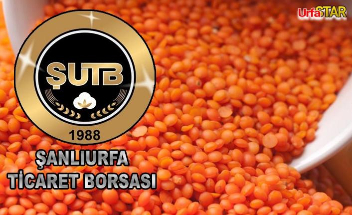 Urfa'da mercimek ne kadardan satıldı?