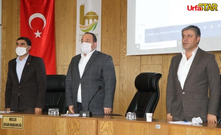 Viranşehir'de meclis toplantısı yapıldı