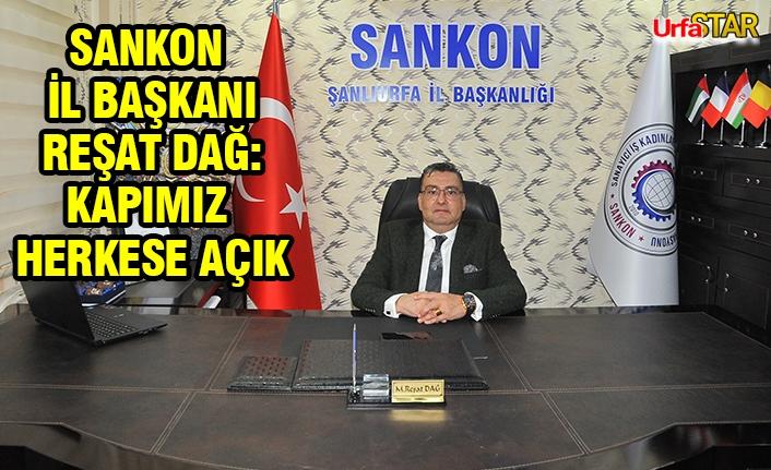 SANKON Şanlıurfa İl Başkanlığı hizmet binası açıldı