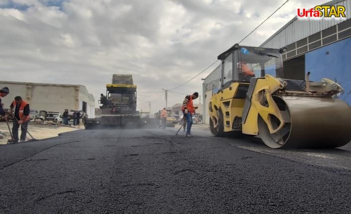 Büyükşehir asfalt atağını sürdürüyor