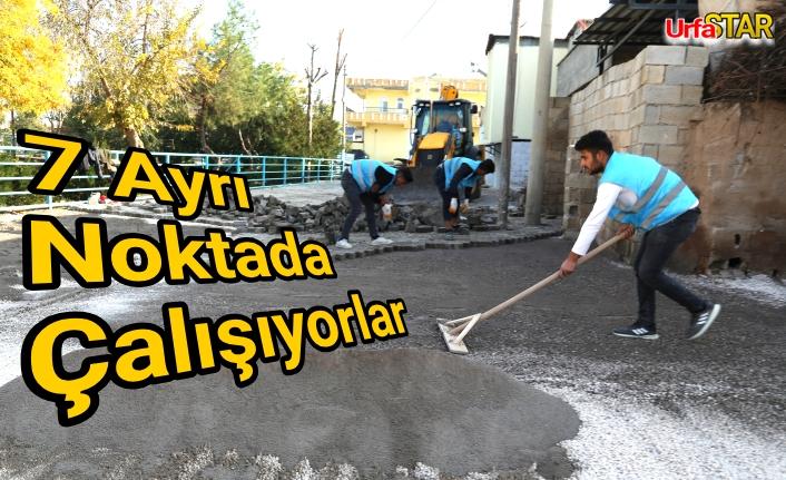 Haliliye Belediyesi ekipleri çalışmalarını sürdürüyor