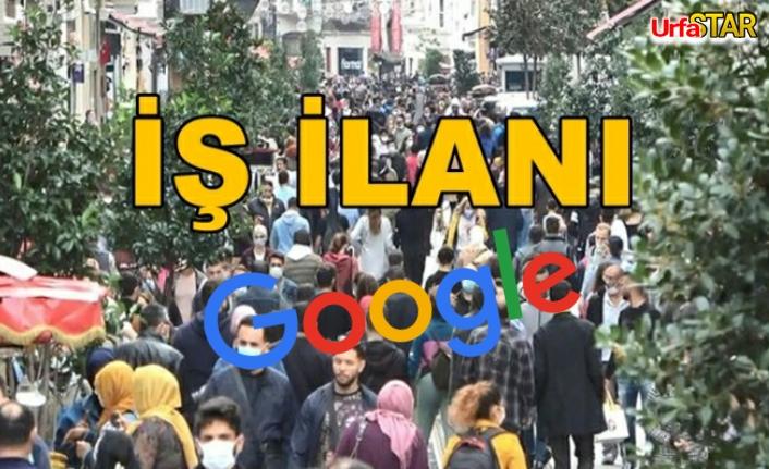 Haydi Urfalı kızlar, google iş imkanı sağlıyor