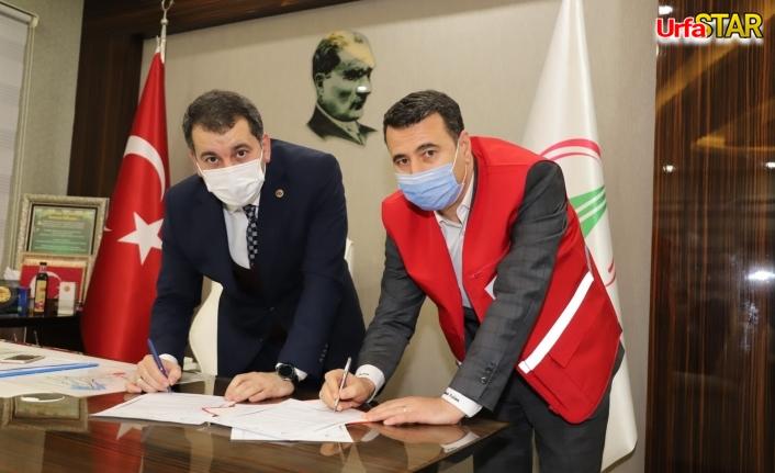 Karaköprü Belediyesi Kızılay'la iş birliği yaptı