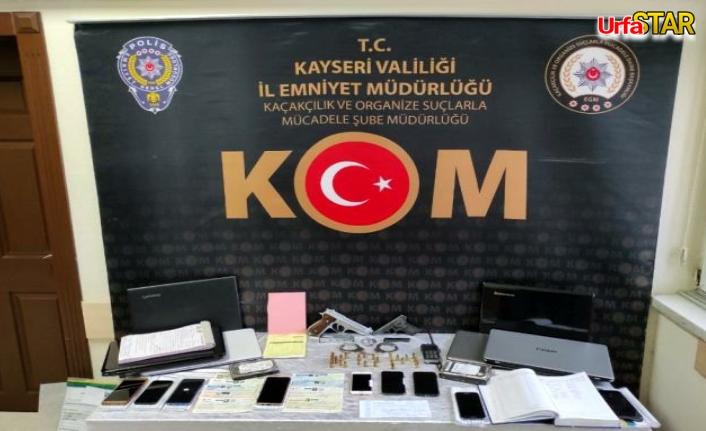 Kayseri polisi planladı! 14 kişi gözaltına alındı