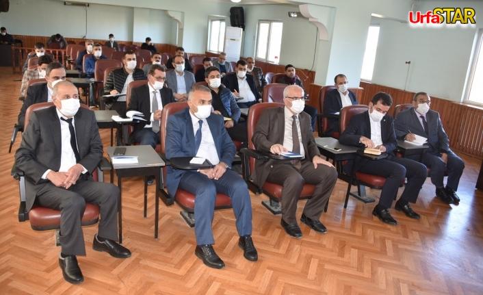 Siverek Belediyesinde koordinasyon toplantısı yapıldı
