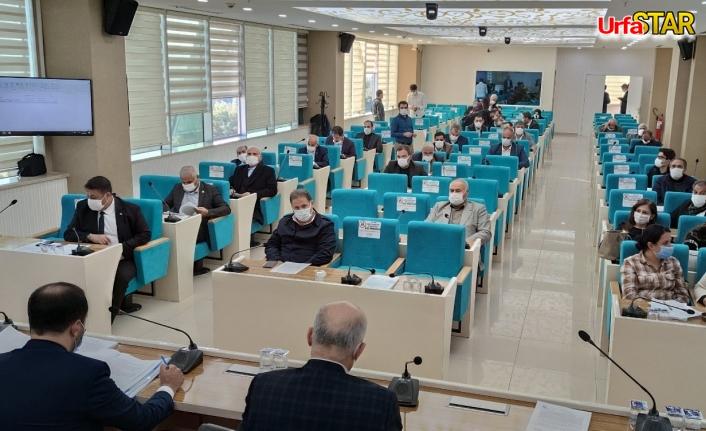 Urfa BŞB'de yılın son toplantısı yapıldı