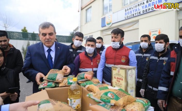 Urfa BŞB, örnek sosyal belediyeciliği gösterdi